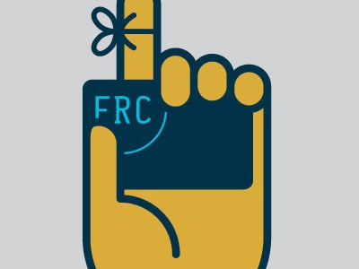 FRC Gift Gift Card grab bow remember card hand gift card campaign
