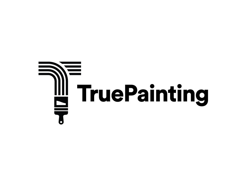 true painting logo concept by derrick kempf dribbble