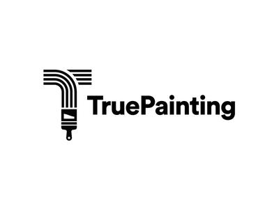 True Painting Logo Concept