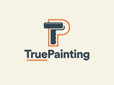 True Painting Logo Concept Color