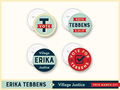 Tebbens Buttons branding politics swag campaign pins buttons