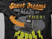 Dream Design Team shirt mockup