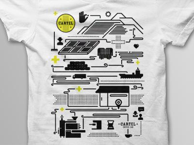 Cartel T-Shirt Mockup