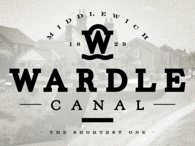 Wardle Canal wardle canal vintage typography bold playoff rebound
