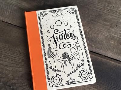 DIY journal diy juntos illustration journal binding book