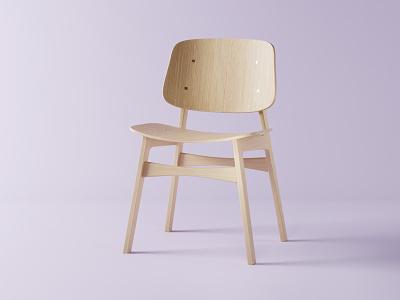 Chair blender 3d modeling