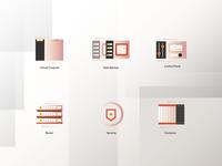 virtualization Icons