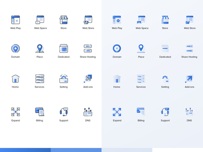 Web Icon exploration