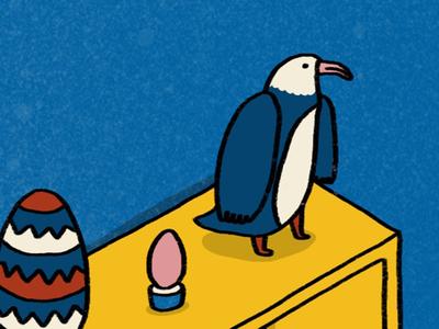 Eagle, Easter, Egg.