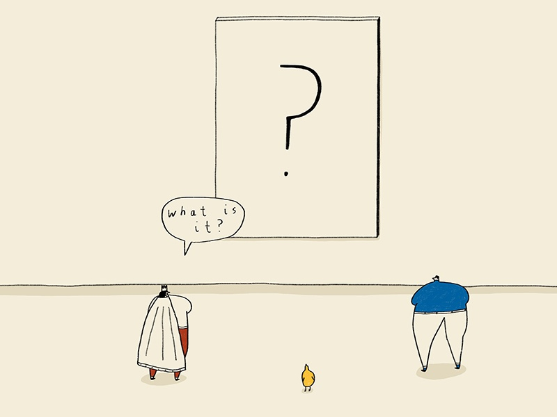 36 Days of Things in a Room Beginning with...Q (Part 1) bird what is it q question illustration