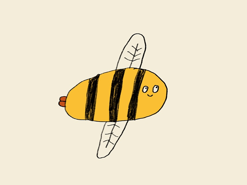 A Gorgeous Little Bee so lovely fun cute insect buzz bzzzzz save the bees bee gorgeous