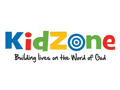 Kidzone Logo god bullseye target children kids church primary colors branding logo