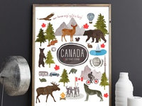 Canada 150 Years Strong Print