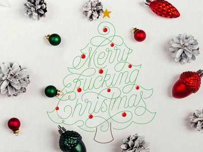 Merry Christmas Greetings Card xmas logo xmas card typegang goodtype lettering customtype hand lettering xmas tree xmas lettering christmas lettering christmas tree merry christmas greetings card christmas card