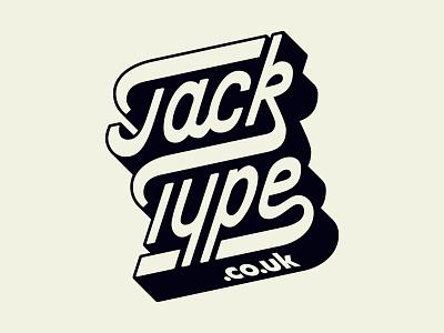JackType Logo lettering logodesign jack type custom type brand identity goodtype personal logo wordmark typedesign handlettering logotype