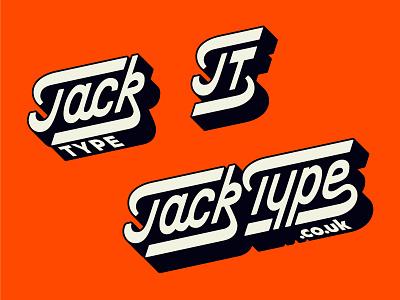 Jack Type Responsive Logo typography typedesign lettering custom type hand lettering logo inspiration wordmark logotype logo suite responsive logo responsive design
