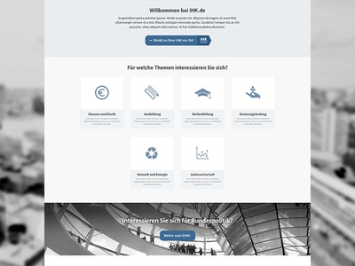 Frontpage css3 media-queries responsive single-page html grid