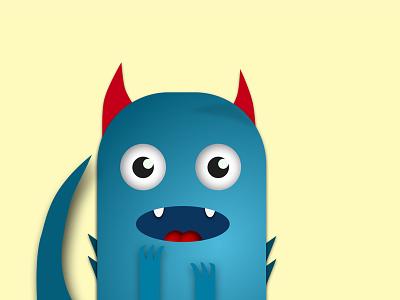 Little Sweet Monster monster illustration