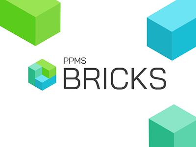 BRICKS Logo application logo brick