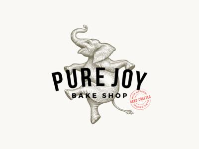 Pure Joy Bake Shop - Logo design