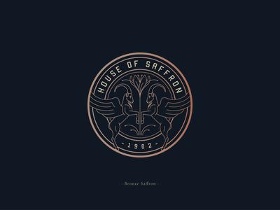 House Of Saffron - Logo design