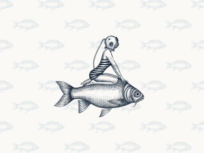 Krill Bill Fish & Chips - Logo graphic