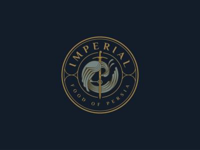 IMPERIAL Food Of Persia - Logo design