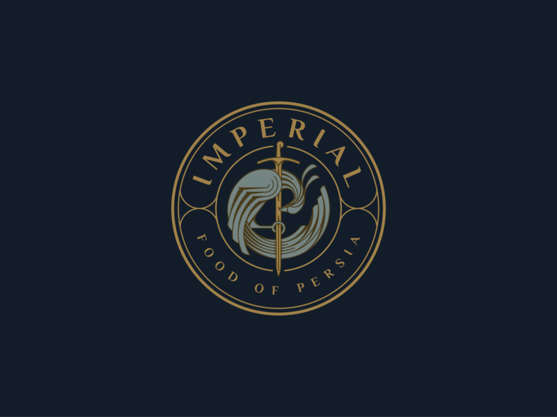 IMPERIAL Food Of Persia - Logo design