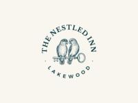 The Nestled Inn - Logo design