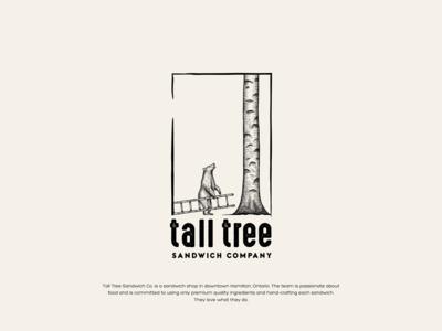 Tall Tree Sandwich Co. - Logo design