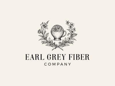 Earl Grey Fiber Company - Logo upgrade