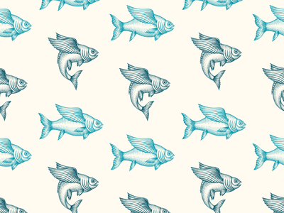 Flying Fish Pattern