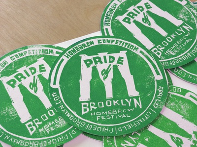 Pride Of Brooklyn Coaster