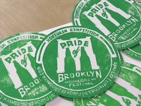 Pride Of Brooklyn Coaster