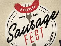Brooklyn Sausage Fest Logo