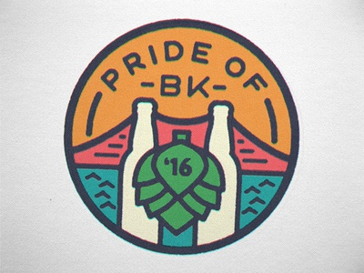 Pride of Brooklyn 2016 Badge 2