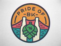 Pride of Brooklyn 2016 Badge 2