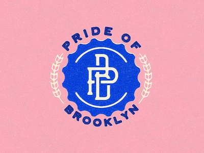 Pride of Brooklyn Bottle Cap Lockup