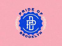 Pride of Brooklyn Bottle Cap Lockup