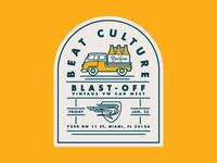 Beat Culture, Blast-off Vintage VW Car Meet