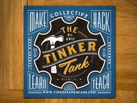 Tinker Tank Sticker