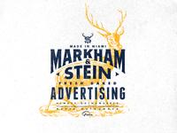 Markham & Stein - Stag logo