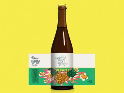 """Beat Culture """"Piñazo"""" Beer Bottle Packaging"""