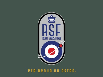 Space Mission Patch: Royal Space Force