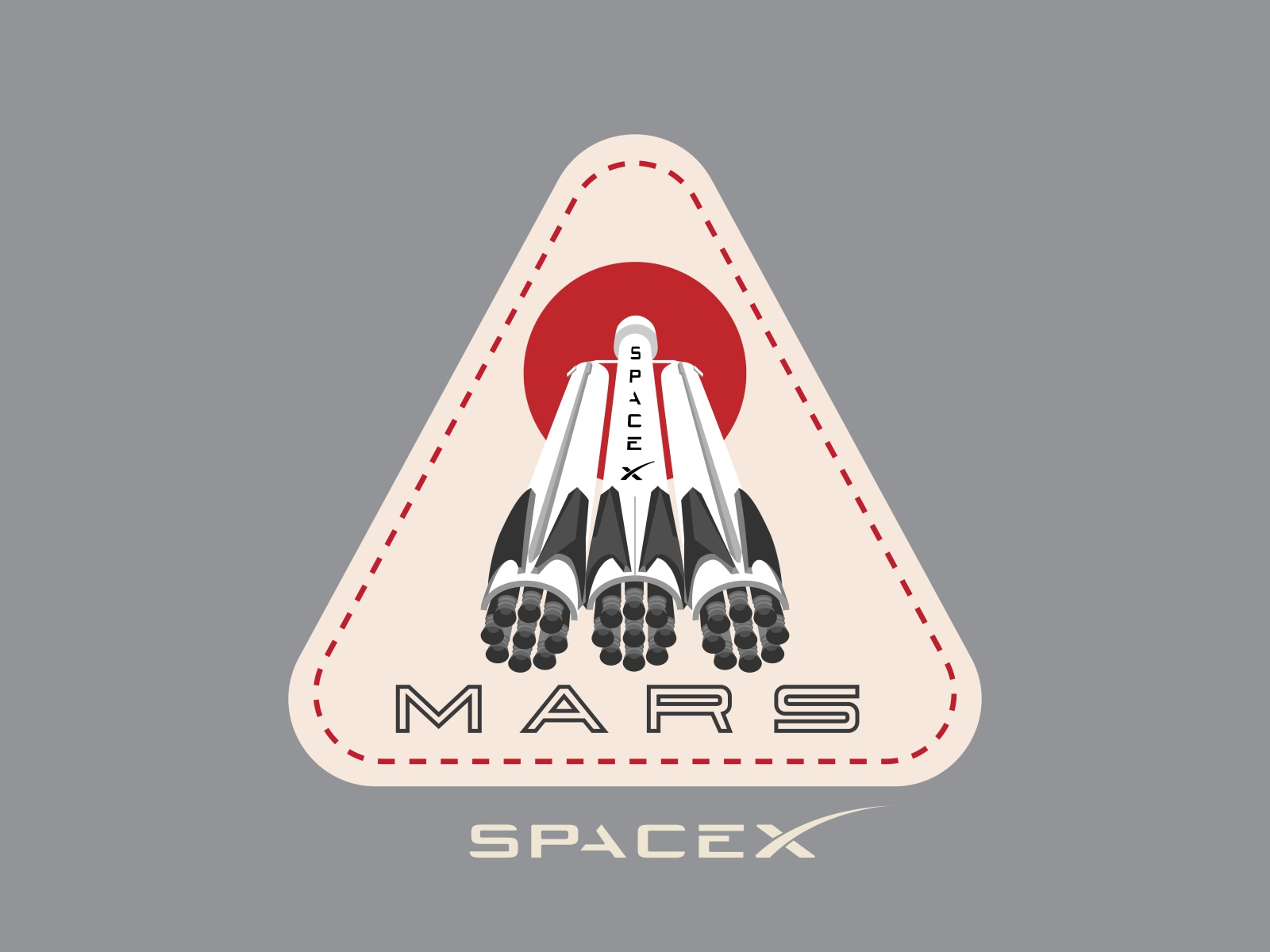 Spacex patches sized 05