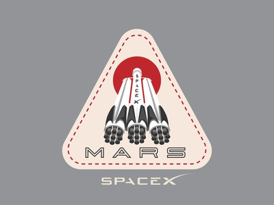Space Mission Patch: Mission Mars