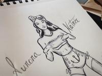 Aurora Sketch