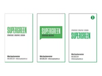 Supergreen Biz Cards