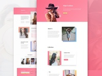 Fashion Website Layout Pack for Divi + Free Photos