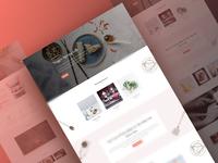 Recipes Website Template - Sneak Peak